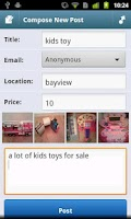 Screenshot of CityShop - for Craigslist