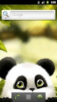 Screenshot of Panda Chub Live Wallpaper Free