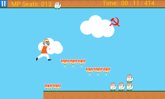 Screenshot of Modi Mario Run