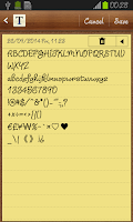 Screenshot of Julietrose FlipFont