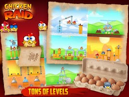 Screenshot of Chicken Raid FREE