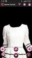 Screenshot of Woman Suit Photo
