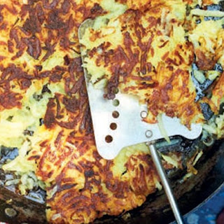 Giant Parsnip And Potato Rösti