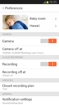 Closeli Camera APK screenshot thumbnail 2
