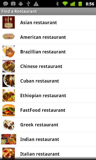 Find a Restaurant FREE