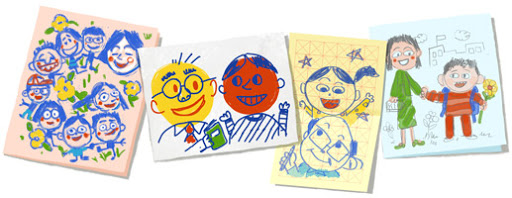Google Doodle Teacher's day 2013 (China)