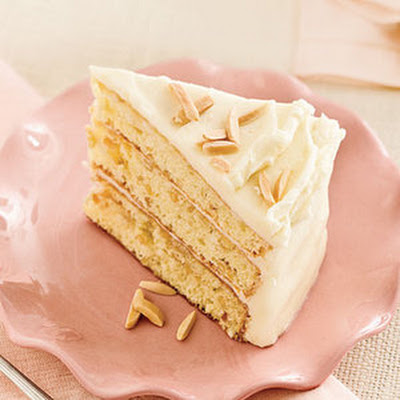 Toasted Almond-Butter Cake