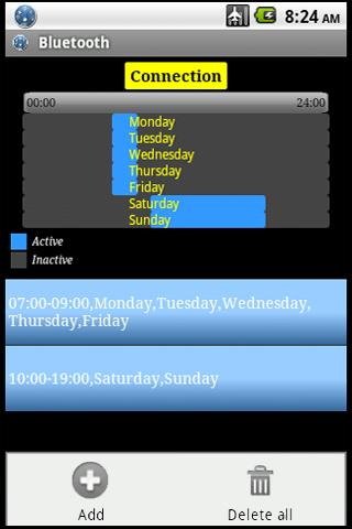 connection-planner for android screenshot