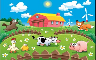 Screenshot of Farm animals for kids HD