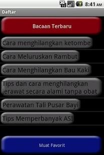 Info Kesehatan- screenshot thumbnail