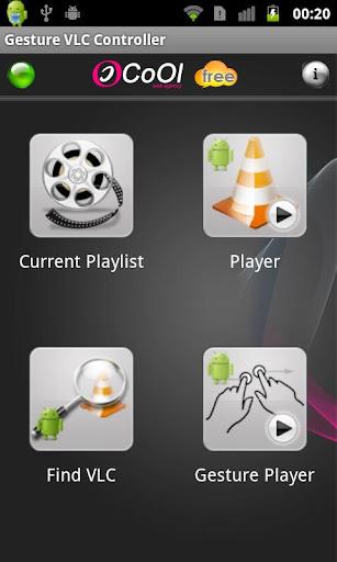Gestural VLC Free Controller
