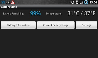Screenshot of Battery Mate