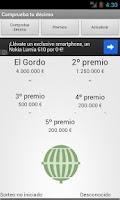 Screenshot of Lotería Navidad 2013