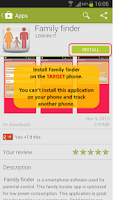 Screenshot of Family finder Phone tracker