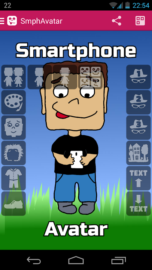 Smartphone Avatar Screenshot 2