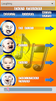 Screenshot of Baby Sounds