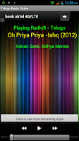 Screenshot of Telugu Radio Online