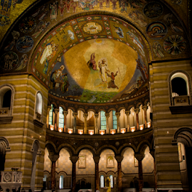 St Louis Basilica by Daniel Yaroschevsky - Buildings & Architecture Places of Worship ( new cathedral, st louis basilica, Architecture, Ceilings, Ceiling, Buildings, Building )