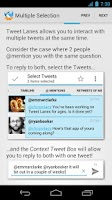 Screenshot of Tweet Lanes
