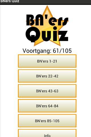 BN'ers Quiz Nederlands