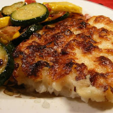 Sole Fillet Bake With Cheese