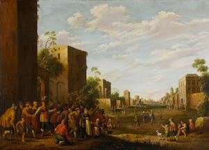 RIJKS: Joost Cornelisz. Droochsloot: painting 1647