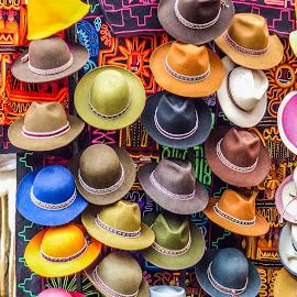 Chapeaux by Bertrand Lavoie - Artistic Objects Clothing & Accessories ( hats, chapeaux, pérou )