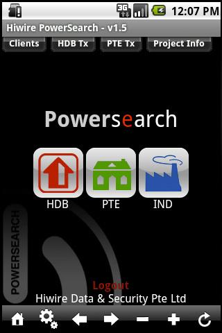 Powersearch sg