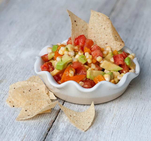Fresh Corn, Tomato and Avocado Salsa Recipe | Yummly