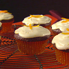Chocolate Orange Cupcakes with Limoncello Frosting
