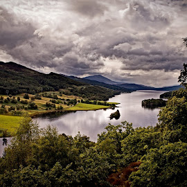 Queens View by Ruth Trotter - Landscapes Mountains & Hills