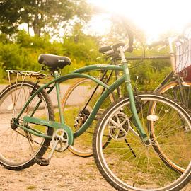 Riding by Yana Fessenko - Transportation Bicycles ( bike, travel )