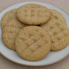 French Crème Peanut Butter Cookies