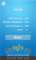 Screenshot of Quiz Arena