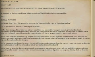 Screenshot of Philippine Laws - Vol. 2