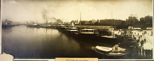 River Yarra from Queen's Bridge, 1914