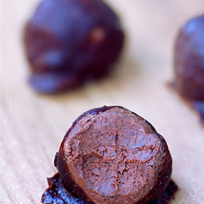 Black Bean Chocolate Fudge Balls