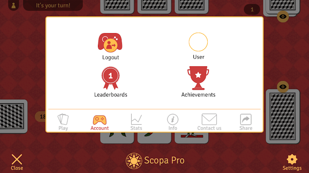Scopa Pro APK screenshot thumbnail 3