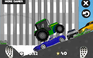 Screenshot of Farm driver - uphill Tractor