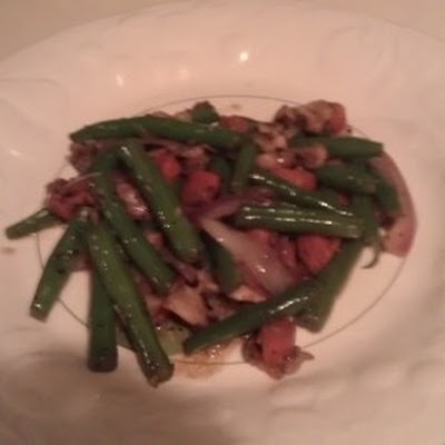 TEE's FRESH GREEN BEANS, CARROTS, WITH MUSHROOMS