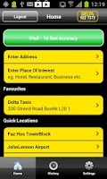 Screenshot of Delta Taxis