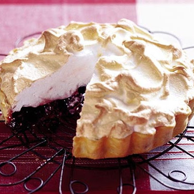 Doris' Cherry Meringue Tart