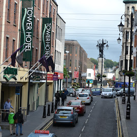 Day Streets by Caleb Wagner - City,  Street & Park  Street Scenes ( urban, ireland, derry, streets, city )