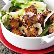Ginger Sweet Tofu With Pak Choi