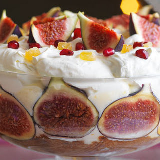 Fig And Ginger Trifle