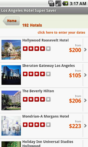 Los Angeles Hotel Super Saver