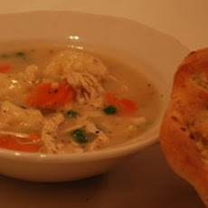 Hearty Chicken and Dumpling Soup