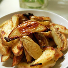 Roasted Thyme Potato Slices