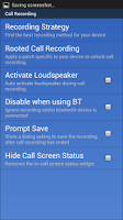 Screenshot of Call Recorder S5 / S4