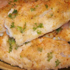 Oven Baked Fish Fillets With Parmesan Cheese